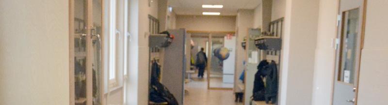 Skolelever i Lövestad intog nyrenoverade klassrum