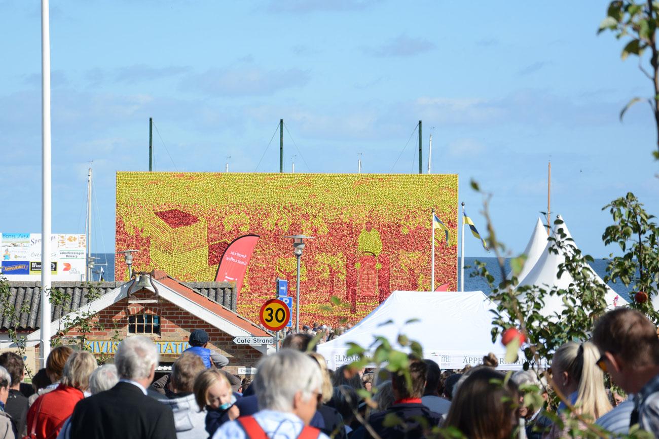 Äppelfest i Kivik