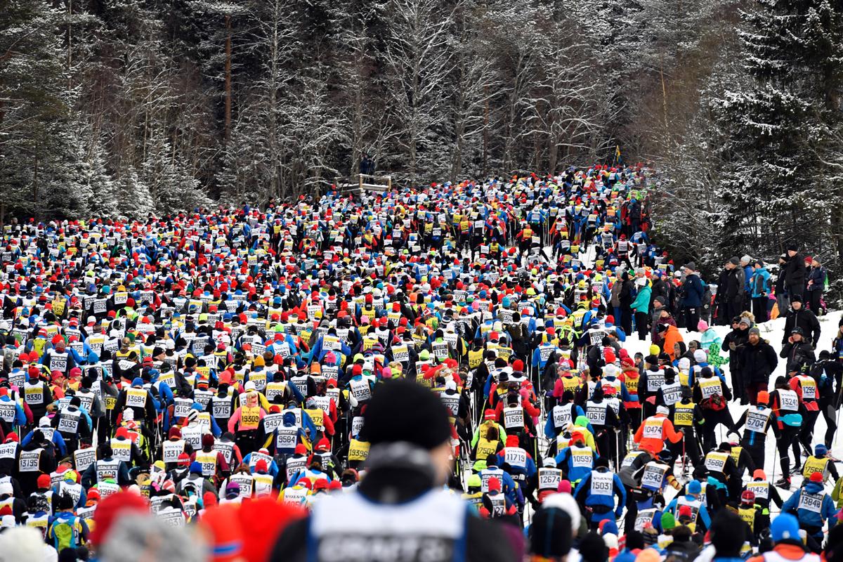 Britta Johansson Norgren och John Kristian Dahl vann Vasaloppet 2017