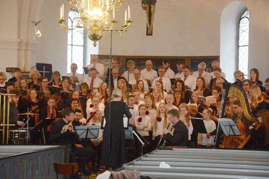 Mass of the Children i Fränninge kyrka