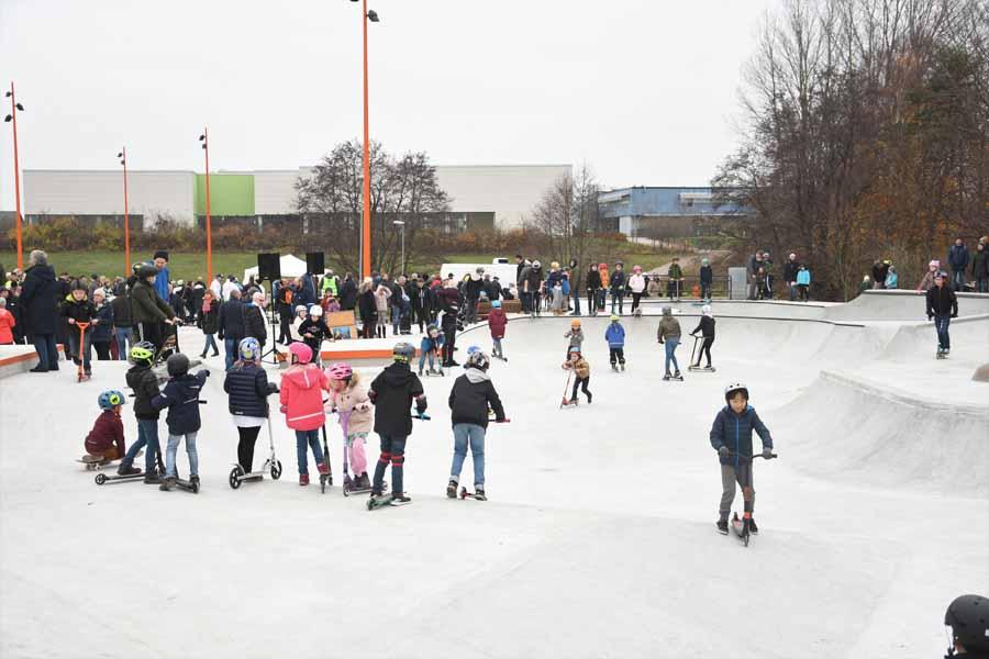 Sjöbo Aktivitetspark invigd