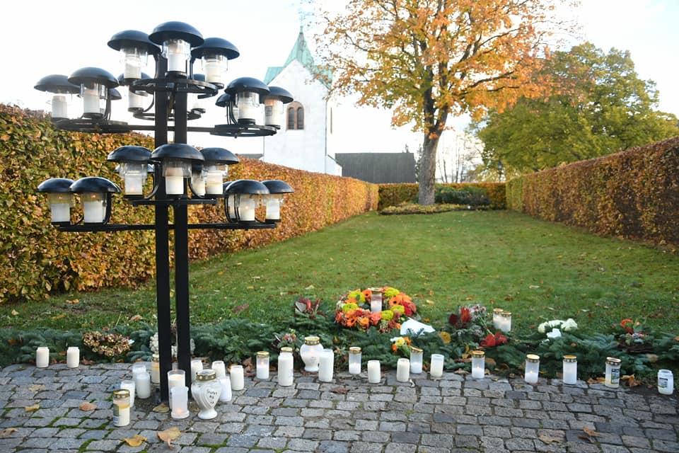 Kyrkogårdar fyllda av ljus