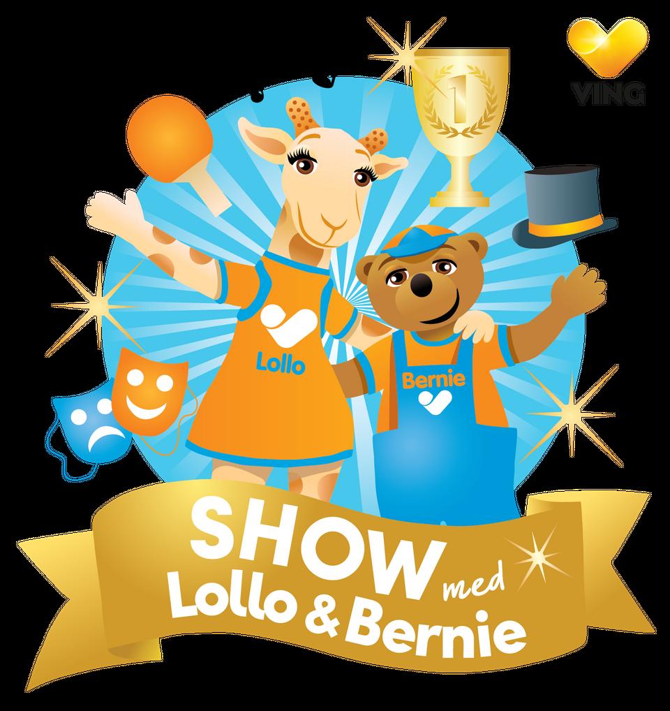 Premiär för show med Vings maskotar Lollo och Bernie!