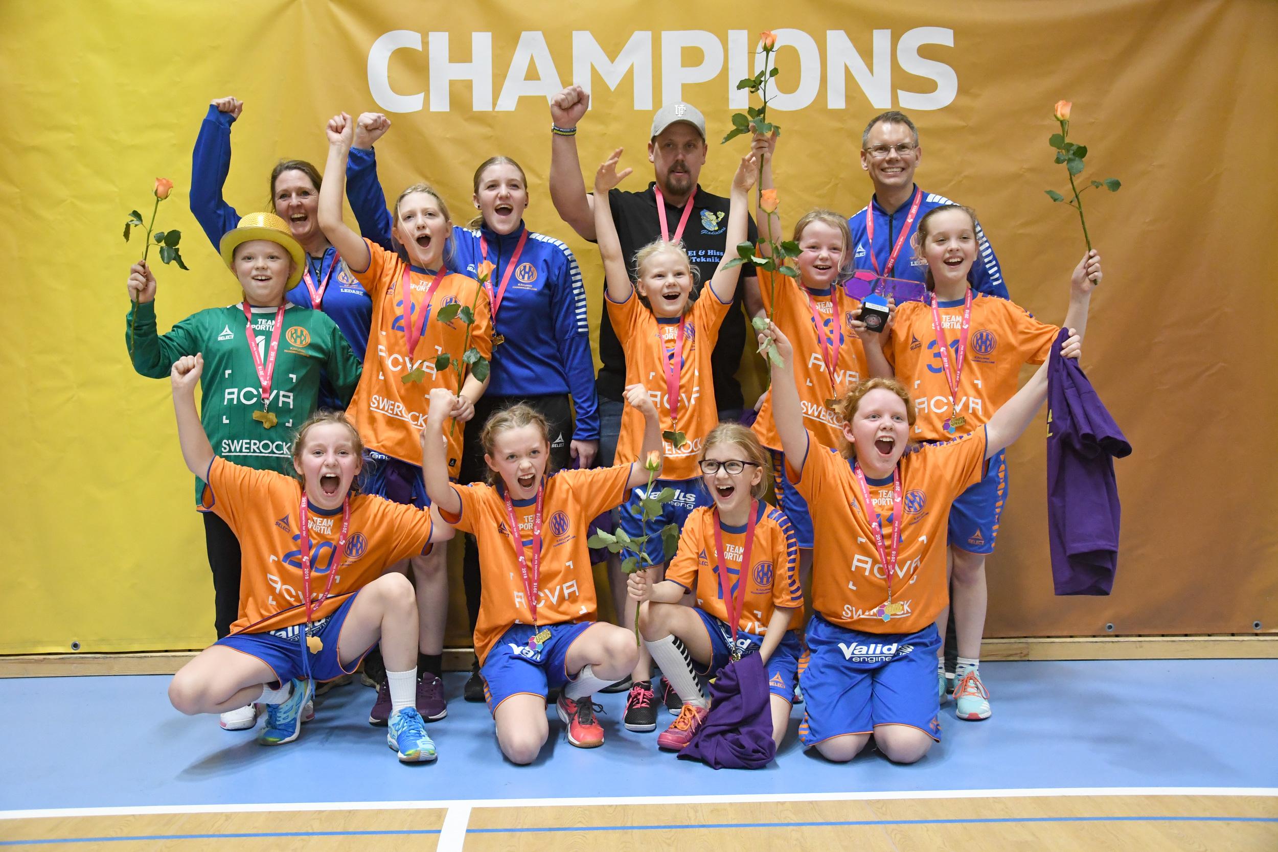 Kävlinge HK och Lugi HF vann Lundaspelen i handboll