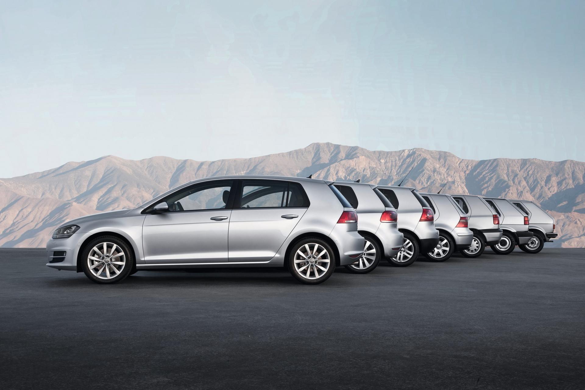 Volkswagen Golf 45 år