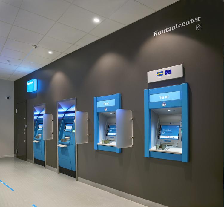 Bankomater blir valutaautomater