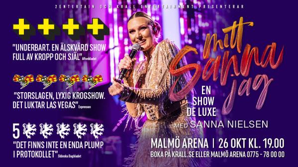 Sanna Nielsen på Sverige-turné