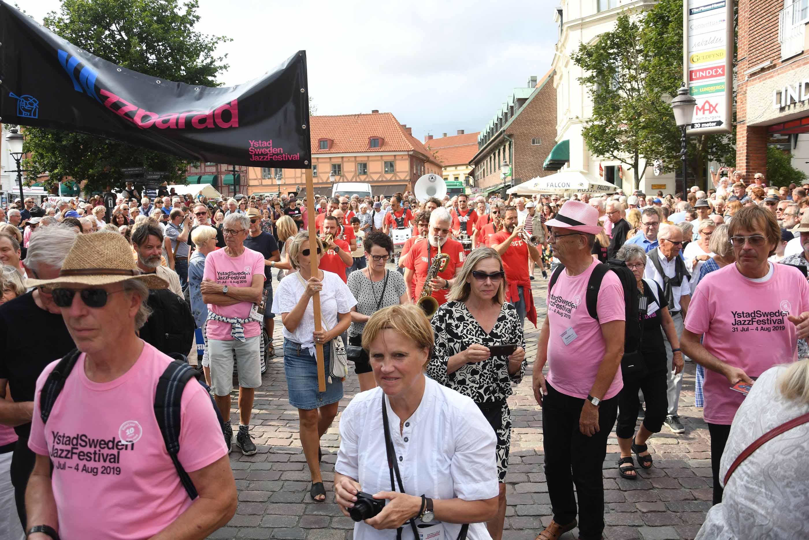 Dags för den tionde jazzfestivalen i Ystad