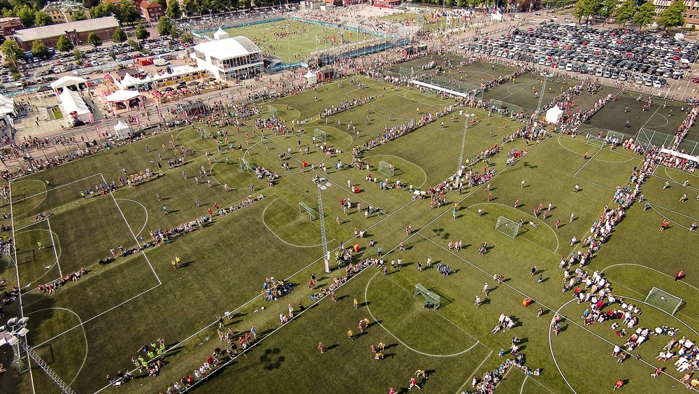 Gothia cup och Partille cup ställs in 2020