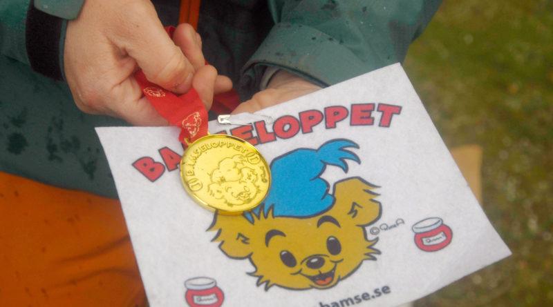 Förskolans dag firades med Bamseloppet