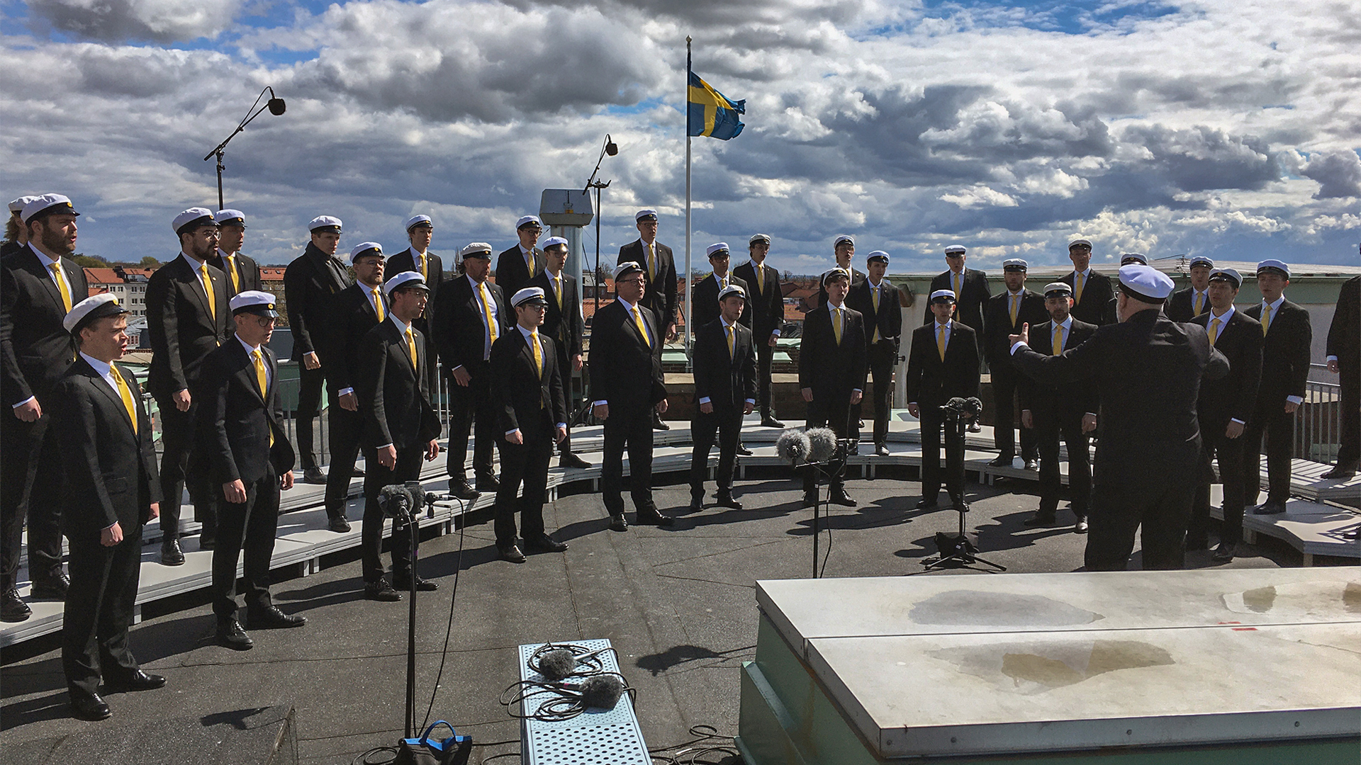 Lunds studentsångare sjöng in våren