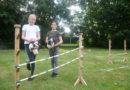 Unga tjejer startade käpphäst ridskola i Södra Sandby