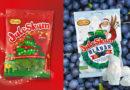 Juleskum bjuder på både blåbär och granar till årets jul