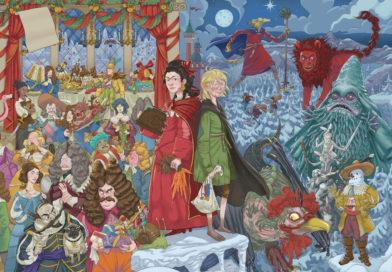 Barock möter fantasy i årets julkalender i Barnradion